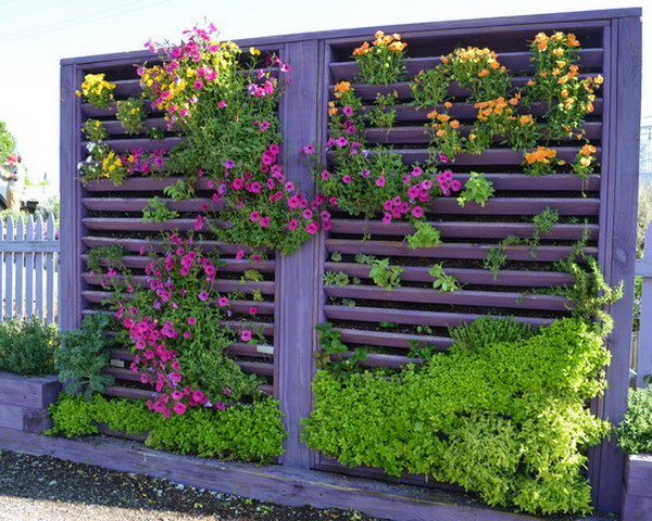 Vertical Wall Garden Ideas vertical vegetable garden Home Envyif